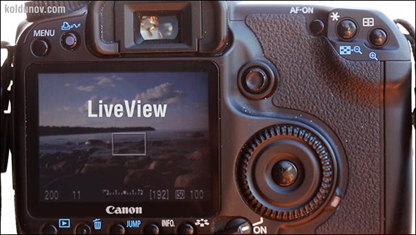 LiveView на зеркальной камере