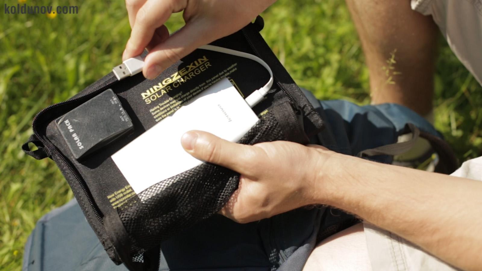 Как заряжать фотокамеру в походных условиях
