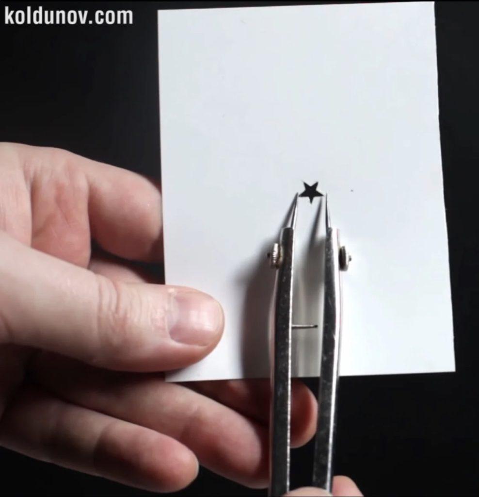 какого размера нужно вырезать фигурное боке