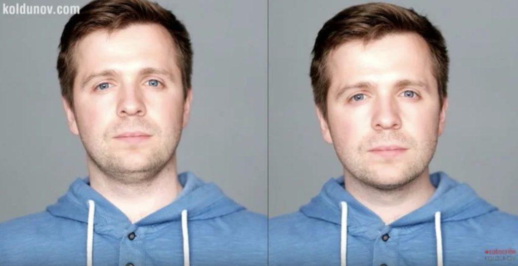 как избавиться от второго подбородка при фотографировании, вытяните шею