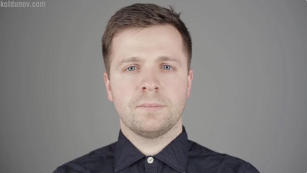 неудачное расположение источников света при съёмке видео блога