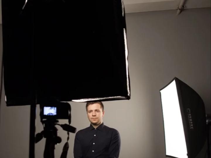 Как поставить свет для видео блога (дома или при съёмке в студии)
