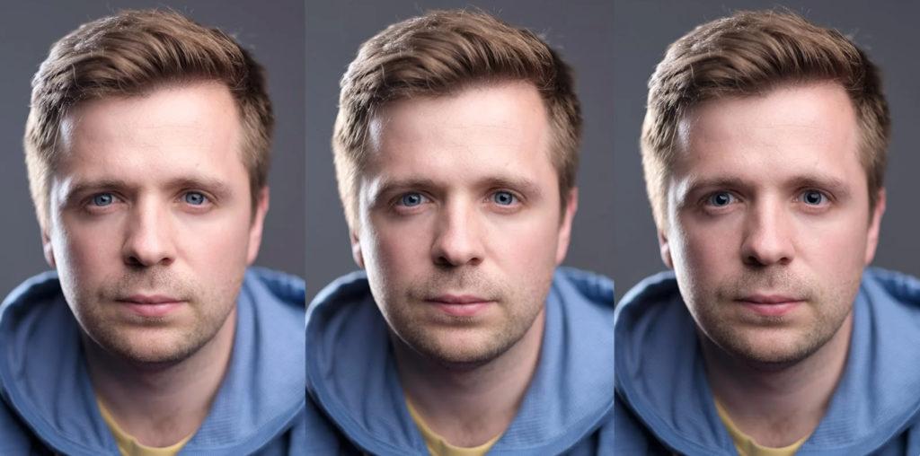влияние размера зрачка на привлекательность человека на фотографии и важность яркости пилотного света