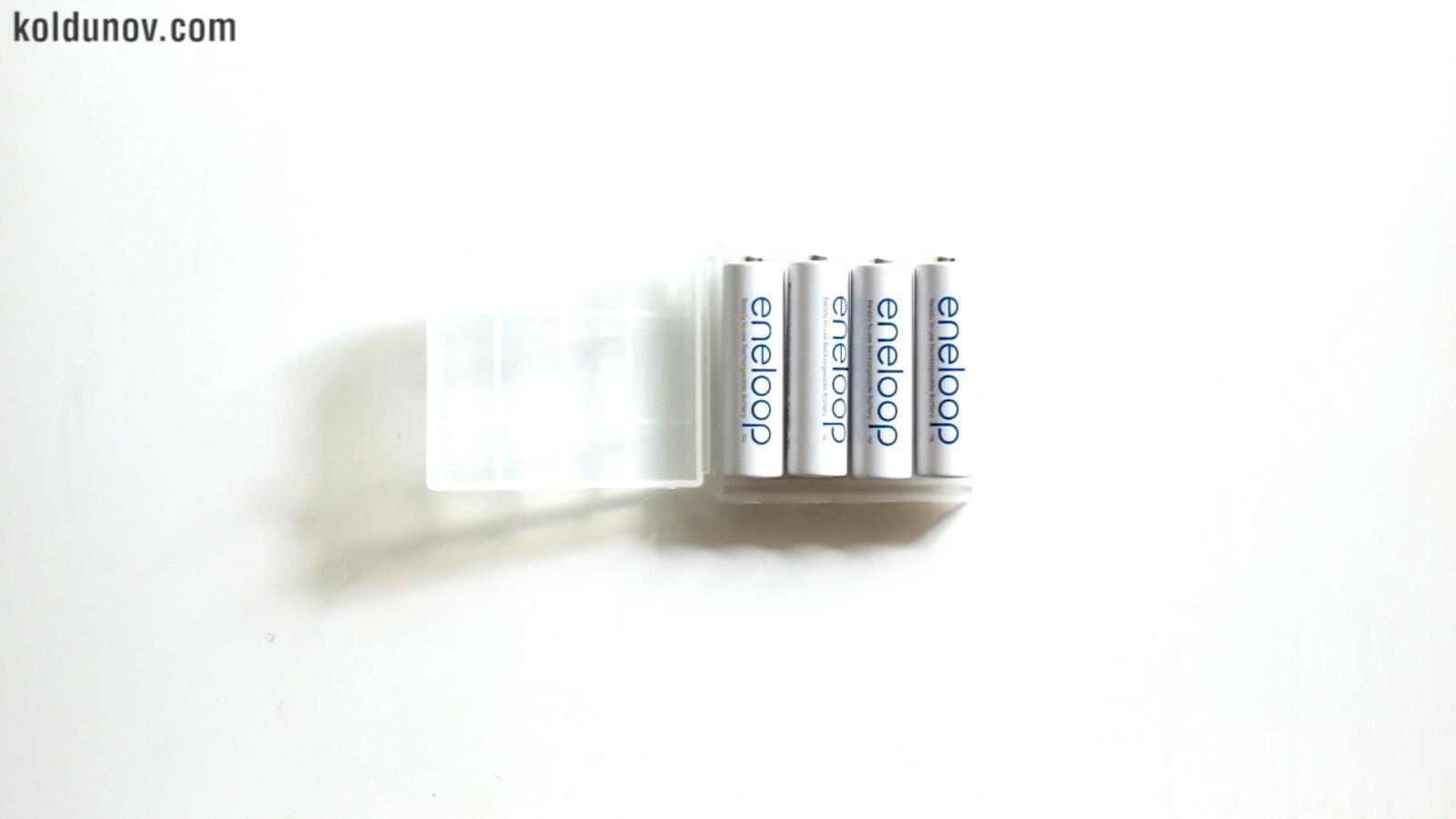 батарейки eneloop