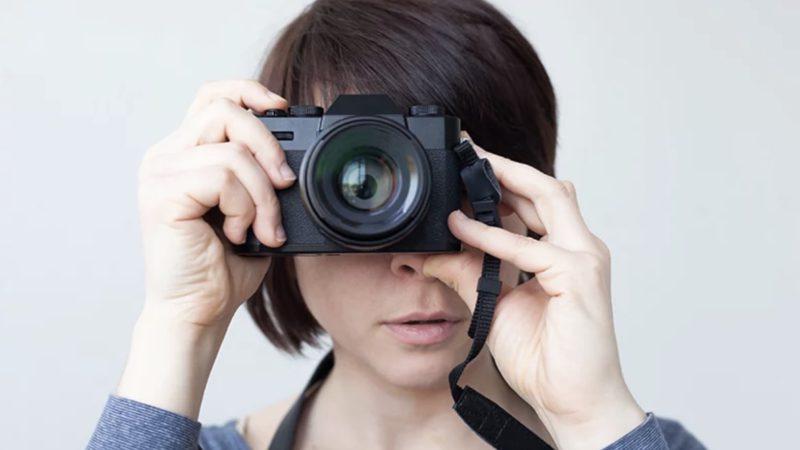 Настройка электронного видоискателя беззеркалки при съёмке в студии