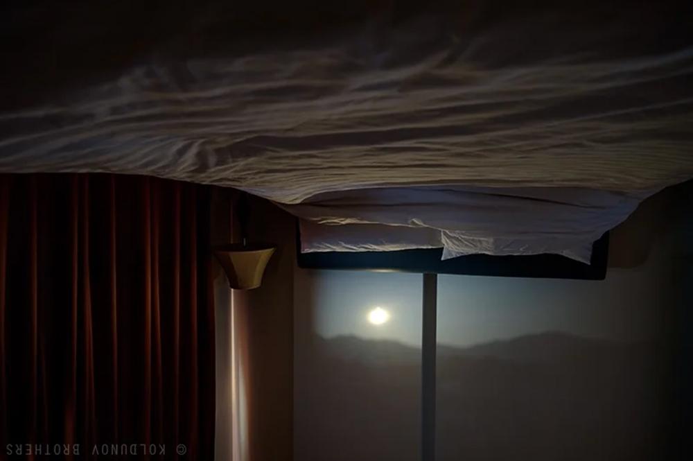 перевернутый результат в Camera obscura