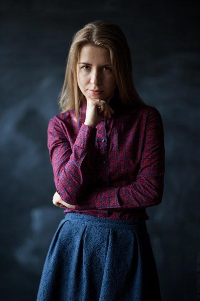 портрет со светом от окна