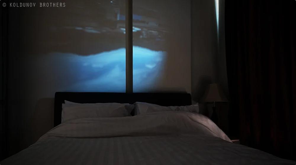 камера обскура сделанная из комнаты