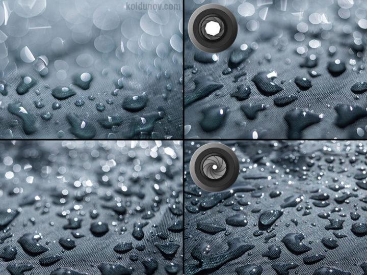Основы фотографии. Часть 2. Диафрагма и глубина резкости